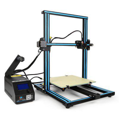 Creality3D  CR - 10 3D Printer flsun 3d printer big pulley kossel 3d printer with one roll filament sd card fast shipping