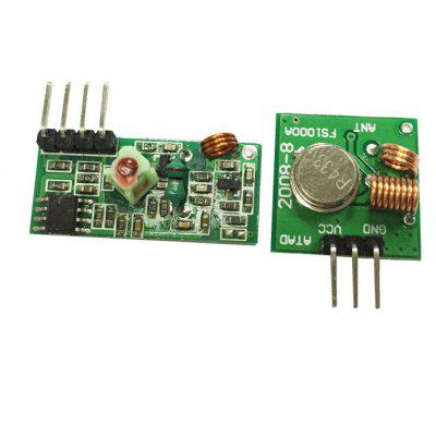 Practical 433MHz RF Transmitter Receiver Module Link Kit for Learners to DIY