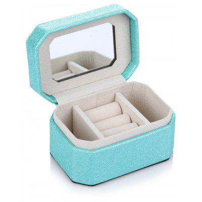 Travel Jewelry Storage Organizer Box for Ring Earring Necklace