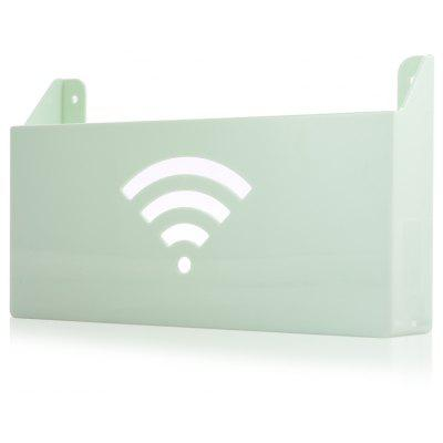 Wall-mounted WiFi Router Storage Box Shelf