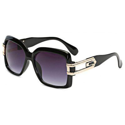 SENLAN Anti UV Square Mirrored Sunglasses