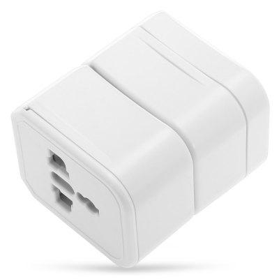 Universal Global Travel AdaptorChargers &amp; Cables<br>Universal Global Travel Adaptor<br><br>Color: White<br>Input: 100 - 125V, 6A / 220 - 250V, 3A<br>Material ( Cable&amp;Adapter): ABS<br>Package Contents: 1 x Power Adapter, 1 x English Manual<br>Package size (L x W x H): 8.00 x 6.50 x 12.00 cm / 3.15 x 2.56 x 4.72 inches<br>Package weight: 0.1240 kg<br>Plug: AU plug,EU plug,UK plug,US plug<br>Product size (L x W x H): 5.70 x 5.00 x 4.00 cm / 2.24 x 1.97 x 1.57 inches<br>Product weight: 0.0890 kg<br>Type: Adapters