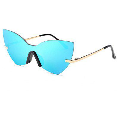 Buy SENLAN Colorful Anti UV Rimless Sunglasses, BLUE, Apparel, Glasses, Stylish Sunglasses, Men's Sunglasses for $14.38 in GearBest store