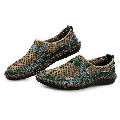 Breathable Air Hole Men Loafers