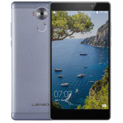 Leagoo T10 Android 6.0 4G Phablet 5.7 inch FHD Screen MTK6797m Deca Core 2.0GHz 4GB RAM 32GB ROM 13MP Main Camera Compass Fingerprint Scanner Type-C Image