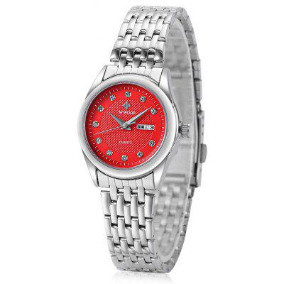 WWOOR 8824 Alloy Roman Nail Quartz Watch