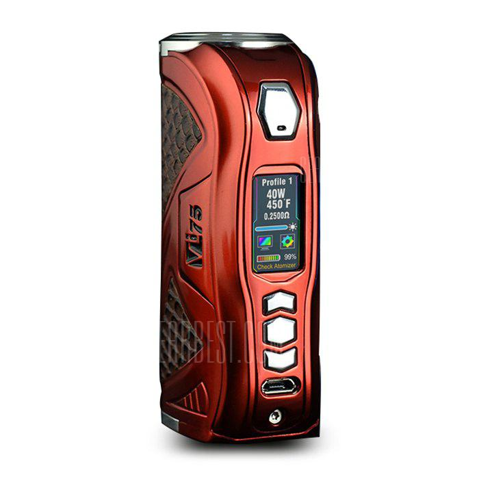 Original Hcigar VT75C Box Mod with 1 - 75W