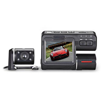 KELIMA i1000s 1080P Car DVR with Front and Rear Camera