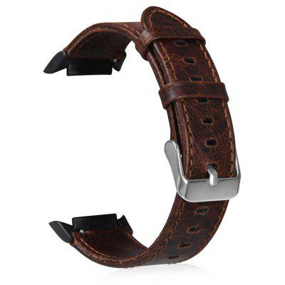 22mm Genuine Leather Wristband