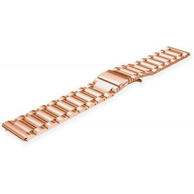 18mm Butterfly Buckle Metal Wristband