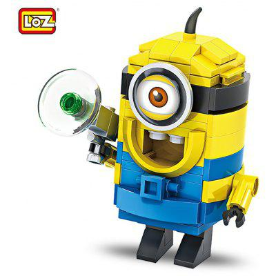 LOZ ABS Cartoon Figure Style Building Block Birthday Gift