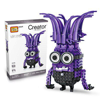 LOZ ABS Cartoon Figure Building Block - 316pcs / setBlock Toys<br>LOZ ABS Cartoon Figure Building Block - 316pcs / set<br><br>Gender: Unisex<br>Materials: ABS<br>Package Contents: 1 x Building Block Set, 1 x Operation Instruction<br>Package size: 17.00 x 5.00 x 24.00 cm / 6.69 x 1.97 x 9.45 inches<br>Package weight: 0.2600 kg<br>Product size: 11.20 x 6.00 x 16.10 cm / 4.41 x 2.36 x 6.34 inches<br>Product weight: 0.2200 kg<br>Suitable Age: Kid<br>Theme: Movie and TV<br>Type: Building