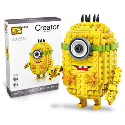 LOZ Cartoon Figure Building Block - 279pcs / setBlock Toys<br>LOZ Cartoon Figure Building Block - 279pcs / set<br><br>Brand: LOZ<br>Completeness: Semi-finished Product<br>Gender: Unisex<br>Materials: ABS<br>Package Contents: 1 x Building Block Set, 1 x Operation Instruction, 1 x Building Block Set, 1 x Operation Instruction<br>Package size: 17.00 x 5.00 x 24.00 cm / 6.69 x 1.97 x 9.45 inches, 17.00 x 5.00 x 24.00 cm / 6.69 x 1.97 x 9.45 inches<br>Package weight: 0.2400 kg<br>Product size: 7.60 x 3.00 x 10.60 cm / 2.99 x 1.18 x 4.17 inches<br>Product weight: 0.2000 kg<br>Stem From: Europe and America<br>Suitable Age: Kid<br>Theme: Movie and TV<br>Type: Building