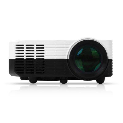 Excelvan LED2018 Projectorprojectors<br>Excelvan LED2018 Projector<br><br>3D: Yes<br>Aspect Ratio: 16:9 / 4:3<br>Audio Formats: MP3 / WMA / ASF / OGG / AAC / WAV<br>Bluetooth: Unsupport<br>Brand: EXCELVAN<br>Brightness: 1200 Lumens<br>Built-in Speaker: Yes<br>Compatible with: Sony PS4<br>Contrast Ratio: 1000:1<br>Display type: LCD<br>DVB-T Supported: Yes<br>External Subtitle Supported: No<br>Features: Home Theater<br>Function: DVB-T, Speaker, 3D<br>Image Scale: 16:9<br>Image Size: 50 - 100 inch<br>Interface: VGA, USB, TV, SD Card Slot, HDMI, AV<br>Lamp: LED<br>Lamp Life: 20000h<br>Lamp Power: 70W<br>Material: ABS<br>Model: LED2018<br>Native Resolution: 640 x 480<br>Noise (dB): 50dB<br>Package Contents: 1 x Projector, 1 x Antenna, 1 x Remote Control, 1 x Power Line, 1 x Power Adapter, 1 x AV Cable, 1 x English User Manual<br>Package size (L x W x H): 20.00 x 16.00 x 17.00 cm / 7.87 x 6.3 x 6.69 inches<br>Package weight: 1.3950 kg<br>Picture Formats: JPEG / BMP / PNG<br>Power Supply: 100-240V<br>Product size (L x W x H): 16.90 x 12.80 x 6.80 cm / 6.65 x 5.04 x 2.68 inches<br>Product weight: 0.6380 kg<br>Projection Distance: 1.1 - 4 m<br>Projector Size: Mini<br>Resolution Support: 1920 x 1080<br>Throw Ration: 2.6<br>Tripod Height: Without<br>Video Formats: HEVC / MPEG2_HD / GAAC / MPEG2 / MPEG4_HD / DD+ / MPEG4 / MVC / DD / MPEG4_SD / H.264 / VP8 / FLV
