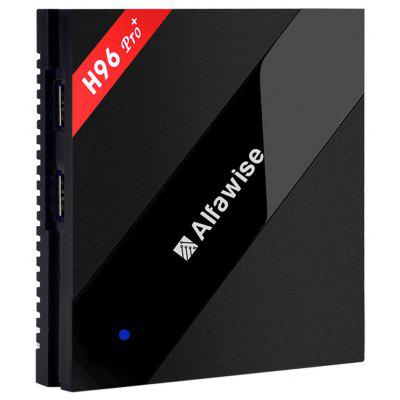 Buy UK PLUG Alfawise H96 Pro+ TV Box for $67.99 in GearBest store