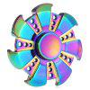 Shining 7-blade Fidget Spinner Stress Relievers Toy - COLORFUL