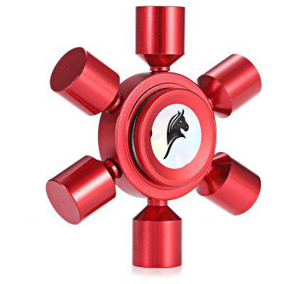 KELIMA Aluminum Alloy Rudder Fidget Spinner Stress Reliever Toy