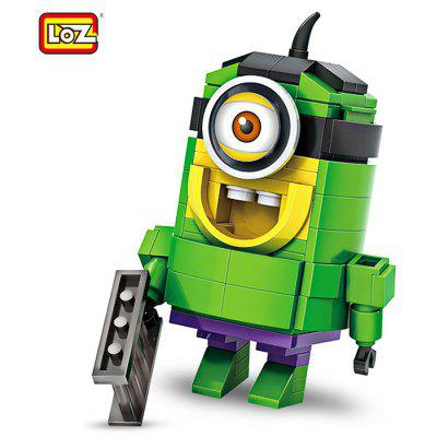 LOZ Cartoon Figure Style Building Block ABS Birthday Gift