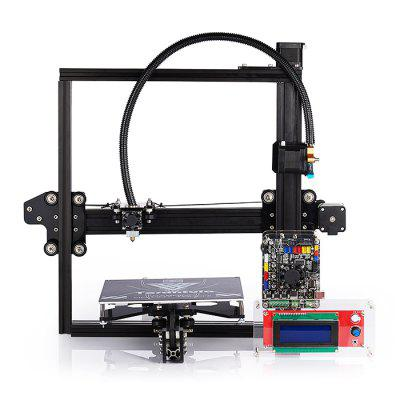 Tevo Tarantula 3D Printer Kit3D Printers, 3D Printer Kits<br>Tevo Tarantula 3D Printer Kit<br><br>Brand: Tevo<br>Engraving Area: 200 x 200 x 200mm<br>File format: G-code, STL<br>Frame material: Aluminium Extrusion<br>Language: English<br>Layer thickness: 0.05-0.4mm<br>LCD Screen: Yes<br>Material diameter: 1.75mm<br>Memory card offline print: SD card<br>Model: Tarantula<br>Nozzle diameter: 0.4mm<br>Nozzle quantity: Single<br>Nozzle temperature: Room temperature to 260 degree<br>Package size: 36.00 x 48.00 x 24.00 cm / 14.17 x 18.9 x 9.45 inches<br>Package weight: 9.3000 kg<br>Packing Contents: 1 x Tevo Tarantula 3D Printer Kit<br>Packing Type: unassembled packing<br>Print speed: 150mm/s<br>Product size: 43.00 x 43.00 x 40.00 cm / 16.93 x 16.93 x 15.75 inches<br>Product weight: 7.5000 kg<br>Supporting material: PLA, ABS, PVC, Wood, Flexible PLA, PETG, Nylon<br>System support: Mac,  Linux, Windows<br>Type: DIY<br>XY-axis positioning accuracy: 0.012mm<br>Z-axis positioning accuracy: 0.004mm