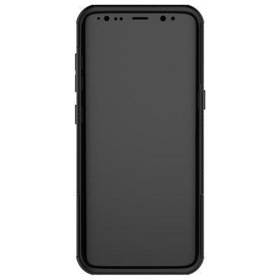 Bumper Case for Samsung Galaxy S8Samsung S Series<br>Bumper Case for Samsung Galaxy S8<br><br>Color: Black<br>Compatible with: Samsung Galaxy S8<br>Features: Anti-knock, Back Cover, Cases with Stand<br>Material: PC, Silicone<br>Package Contents: 1 x Phone Case<br>Package size (L x W x H): 18.00 x 9.00 x 2.30 cm / 7.09 x 3.54 x 0.91 inches<br>Package weight: 0.0680 kg<br>Product size (L x W x H): 15.50 x 7.30 x 1.30 cm / 6.1 x 2.87 x 0.51 inches<br>Product weight: 0.0450 kg<br>Style: Solid Color, Modern, Pattern