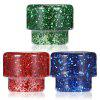 810 Resin Drip Tip for Kennedy Atomizer - SEQUIN RED