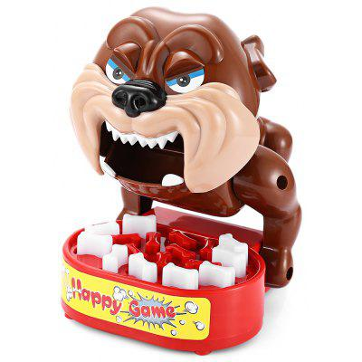 Tricky Bite Finger Large Mouth Bulldog Family Game Toy