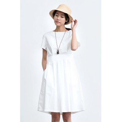 ZIMO Waisted A-line Dress