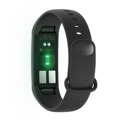 Original Xiaomi Huami AMAZFIT Heart Rate SmartbandHot Products<br>Original Xiaomi Huami AMAZFIT Heart Rate Smartband<br><br>Available Color: Black<br>Band material: TPU<br>Battery  Capacity: 95mAh li-polymer battery<br>Bluetooth Version: Bluetooth 4.0<br>Brand: Xiaomi<br>Built-in chip type: ECG<br>Case material: Aluminium Alloy,PC,Stainless Steel<br>Compatible OS: IOS, Android<br>Health tracker: Heart rate monitor,Pedometer,Sleep monitor<br>IP rating: IP67<br>Operating mode: Touch Key<br>Other Function: Bluetooth, Waterproof<br>Package Contents: 1 x Smartband, 1 x USB Charger, 1 x Chinese User Manual<br>Package size (L x W x H): 14.00 x 9.50 x 3.70 cm / 5.51 x 3.74 x 1.46 inches<br>Package weight: 0.2180 kg<br>People: Female table,Male table<br>Product size (L x W x H): 23.00 x 1.00 x 1.20 cm / 9.06 x 0.39 x 0.47 inches<br>Product weight: 0.0100 kg<br>Screen: OLED<br>Shape of the dial: Rectangle<br>Waterproof: Yes
