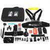 AT684 Action Camera Accessory Kit for GoPro / YI / SJCAM - BLACK