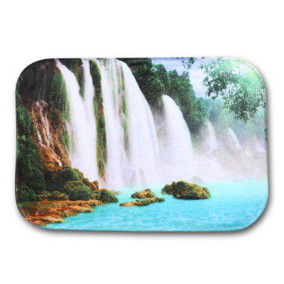 Waterfall Flannel Doormat Rug Mat