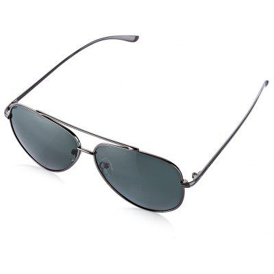 NANKA 8771 Men Aviator Frog Polarized Vintage Sunglasses