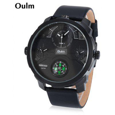 Oulm 3749 Male Sports Quartz Watch