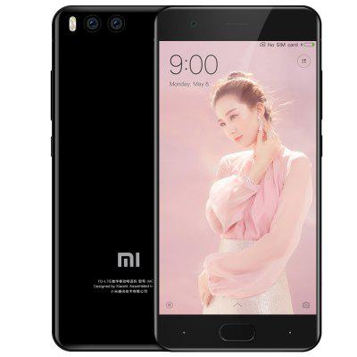 Xiaomi Mi 6 4G Smartphone - INTERNATIONAL VERSION 6GB RAM 64GB ROM PHOTO BLACK