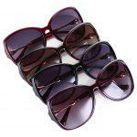 NANKA 9006 Fashion Polarized Sunglasses Gradient Design - BLACK