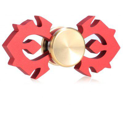Horn-shaped Aluminum Alloy Fidget Spinner