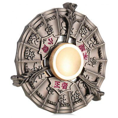 Zinc Alloy Fire Wind Wheel Fidget Spinner Stress Reliever Toy