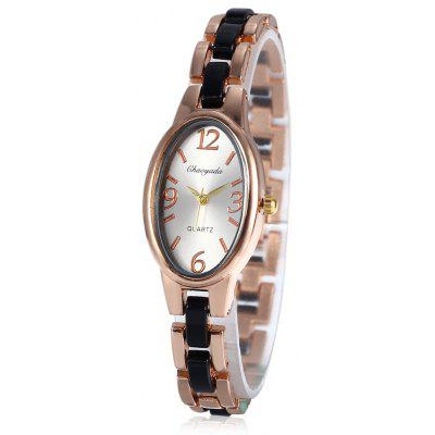 Chaoyada Oval Dial Quartz Watch