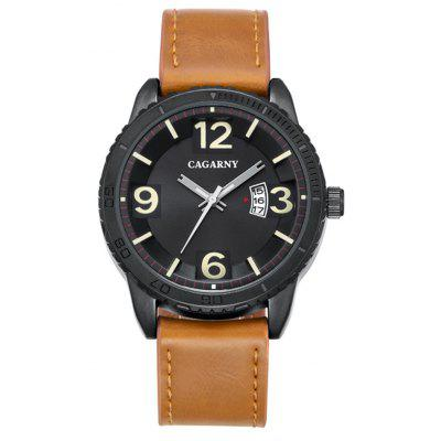CAGARNY 9857 Men Quartz Watch