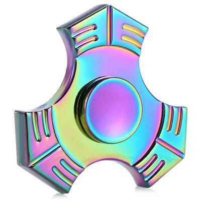 Colorful Trigram Zinc Alloy EDC Fidget Spinner