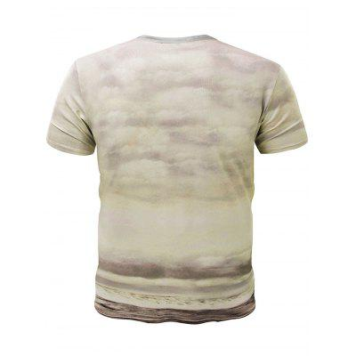 3D Mushroom-cloud Clown Short Sleeves T-shirtMens Short Sleeve Tees<br>3D Mushroom-cloud Clown Short Sleeves T-shirt<br><br>Fabric Type: Cotton, Polyester<br>Neckline: Round Neck<br>Package Content: 1 x T-shirt<br>Package size: 32.00 x 28.00 x 2.00 cm / 12.6 x 11.02 x 0.79 inches<br>Package weight: 0.3200 kg<br>Product weight: 0.2600 kg<br>Season: Summer, Spring, Autumn<br>Sleeve Length: Short Sleeves<br>Style: Casual