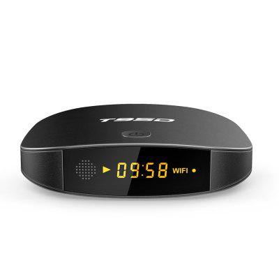 SUNVELL T95D TV BoxTV Box<br>SUNVELL T95D TV Box<br><br>Audio format: APE, WMA, WAV, OGG, AC3, MP3, HD, FLAC, DTS, DDP, AAC<br>Brand: Sunvell<br>Color: Black<br>Core: Quad Core<br>CPU: RK3229<br>Decoder Format: H.265<br>GPU: Mali-400<br>Interface: USB2.0, TF card<br>Language: Multi-language<br>Max. Extended Capacity: 32G<br>Model: T95D<br>Package Contents: 1 x SUNVELL T95D TV Box, 1 x Power Adapter, 1 x HDMI Cable, 1 x Remote Control, 1 x English User Manual<br>Package size (L x W x H): 16.00 x 16.00 x 9.60 cm / 6.3 x 6.3 x 3.78 inches<br>Package weight: 0.3920 kg<br>Photo Format: BMP, JPEG, GIF, TIFF, PNG<br>Power Consumption.: 5W<br>Power Supply: Charge Adapter<br>Power Type: External Power Adapter Mode<br>Product size (L x W x H): 10.20 x 10.20 x 2.30 cm / 4.02 x 4.02 x 0.91 inches<br>Product weight: 0.1500 kg<br>RAM: 1G RAM<br>RAM Type: DDR3<br>RJ45 Port Speed: 100M<br>ROM: 8G ROM<br>System: Android 6.0<br>System Bit: 32Bit<br>Type: TV Box<br>Video format: ISO, WMV, VOB, TS, RMVB, RM, MPG, 4K, MPEG, MKV, AVI, DAT, FLV, ASF