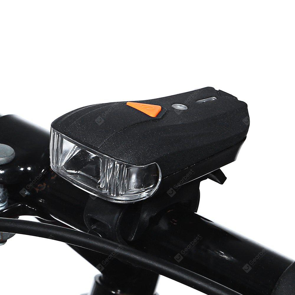 Bicycle USB Rechargeable Mini LED Front Warning Safety Light