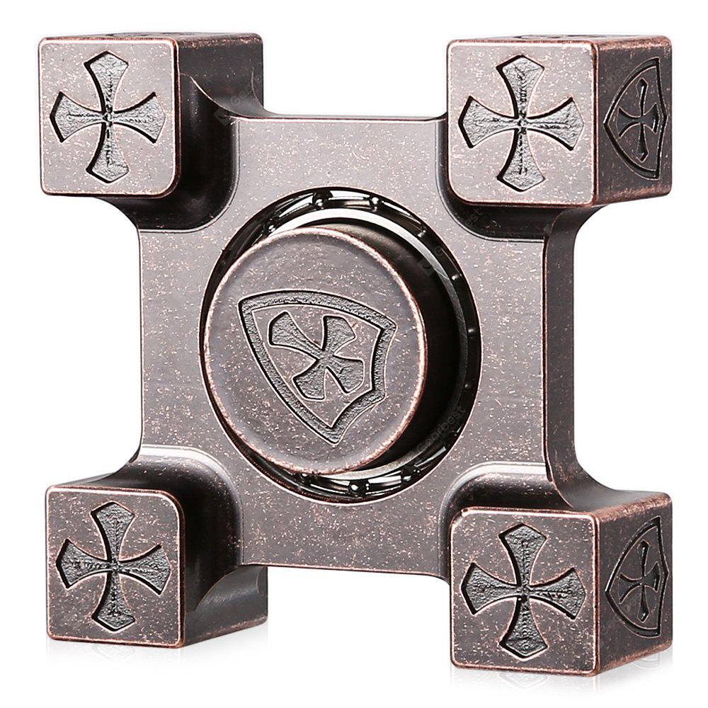 Square Crusader ADHD EDC Fidget Spinner
