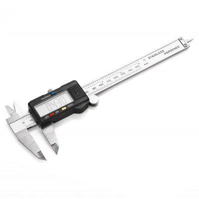 AT - 12 150mm Electronic Digital Vernier Caliper com LCD