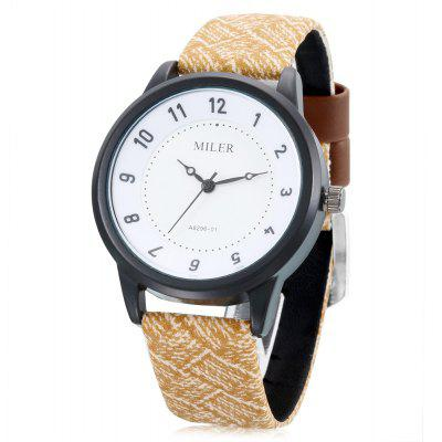 MILER A8296 - 01 Quartz Watch for Women