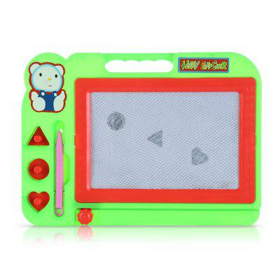 Kids Magic Draw Sketch Tablet Board Toy with PenPainting Supplies<br>Kids Magic Draw Sketch Tablet Board Toy with Pen<br><br>Color: Multi-color<br>Material: PC<br>Package Contents: 1 x Children Magical Draw Sketch<br>Package size (L x W x H): 28.00 x 25.00 x 3.00 cm / 11.02 x 9.84 x 1.18 inches<br>Package weight: 0.1680 kg<br>Product size (L x W x H): 27.00 x 19.50 x 2.00 cm / 10.63 x 7.68 x 0.79 inches<br>Product weight: 0.1450 kg