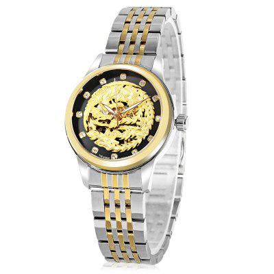 TEVISE 9016 Automatic Mechanical Watch for Women