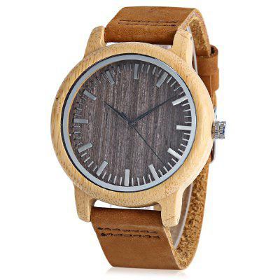 BOBO BIRD A18 Bamboo Men Quartz Watch