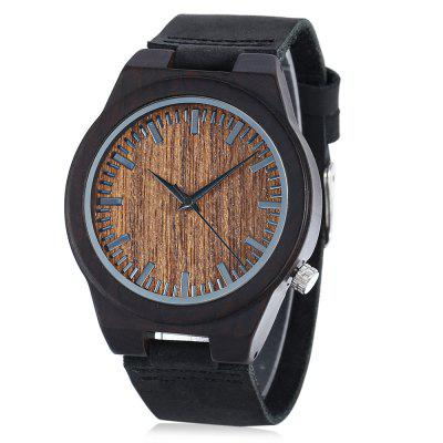 BOBO BIRD C24 Ebony Men Quartz Watch