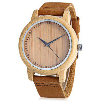 BOBO BIRD D13 Bamboo Quartz Watch